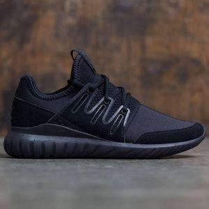 Adidas Tubular Radial 'Core Black' Running Shoes